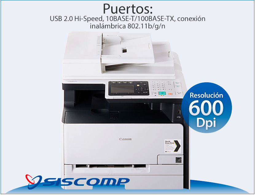 Fotocopiadora Impresora Fax Esc 225 Ner Canon Mf8280cw
